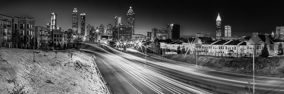 Atlanta from Jackson Street Bridge